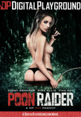 Poon Raider - Official XXX Parody cover