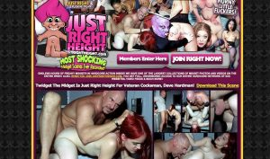 Just Right Height porn site