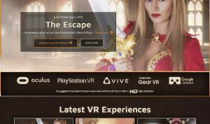 Whorecraft VR porn site