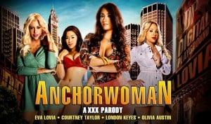 Anchorwoman XXX parody