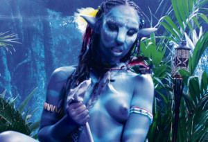 Avatar naked girl