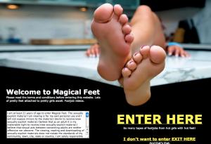 magical feet disclaimer