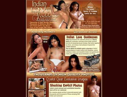 Indian Love Goddess