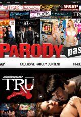 Parody Pass porn site