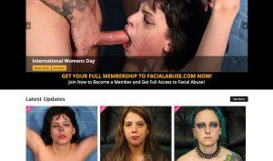 Facial Abuse porn site