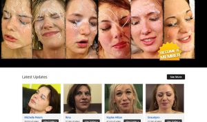 Nasty Little Facials porn site