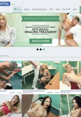 fake hospital porn site