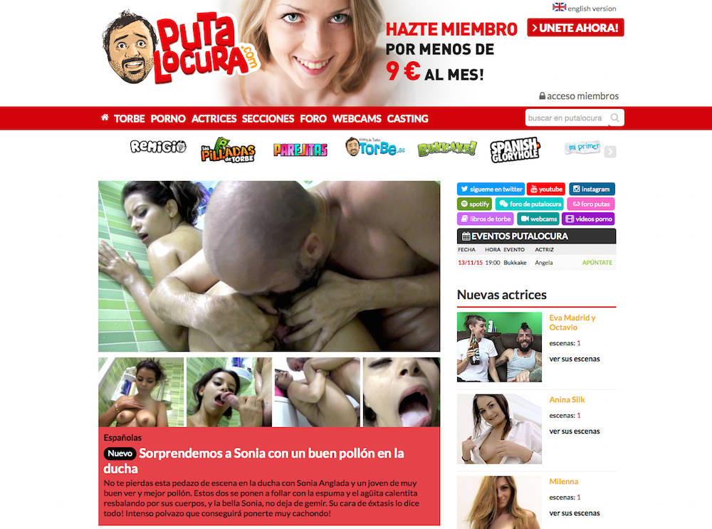 Spanish porn websites