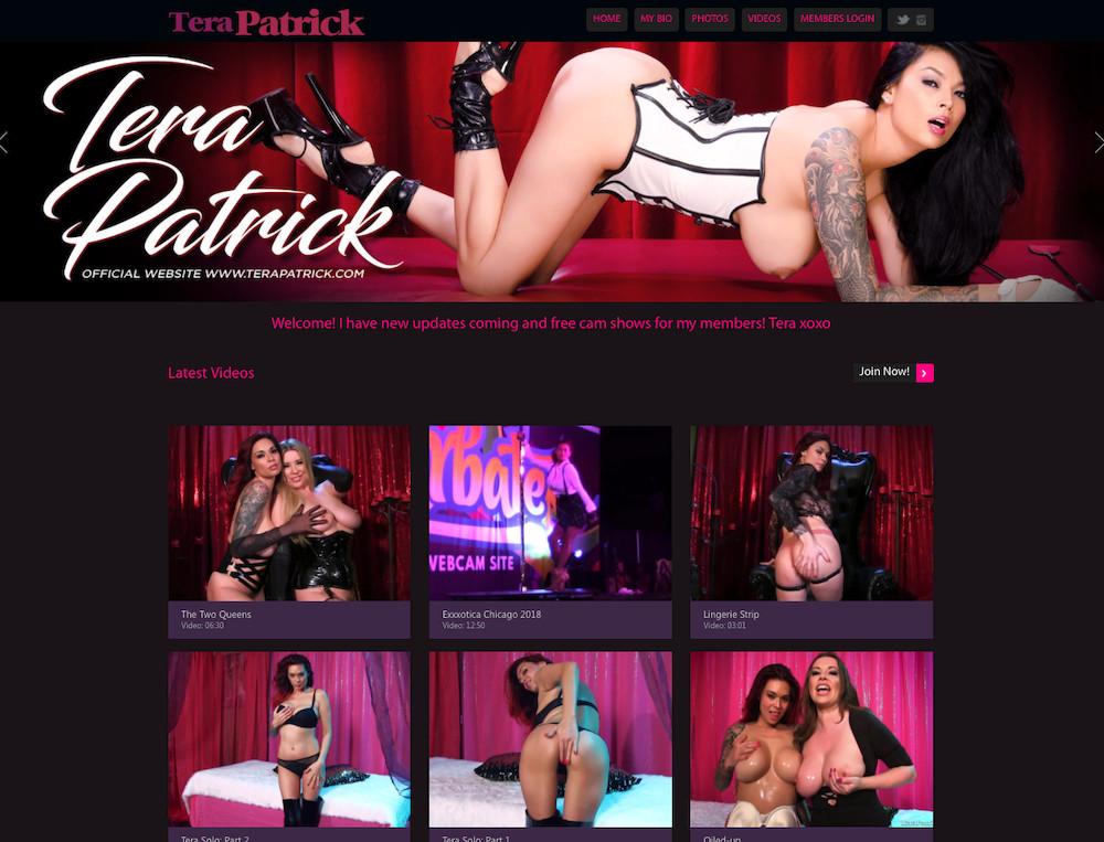 Tera Patrick Website