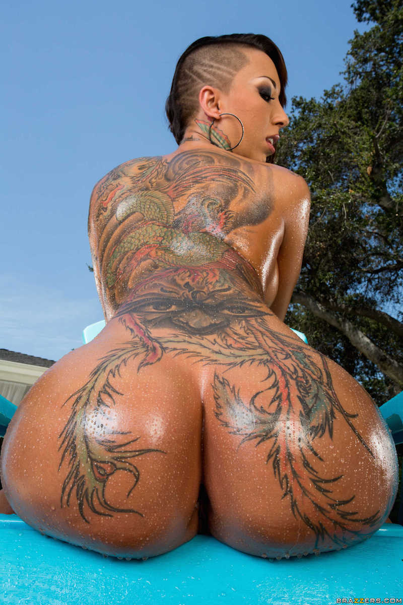 Tattooed Big Ass Latina