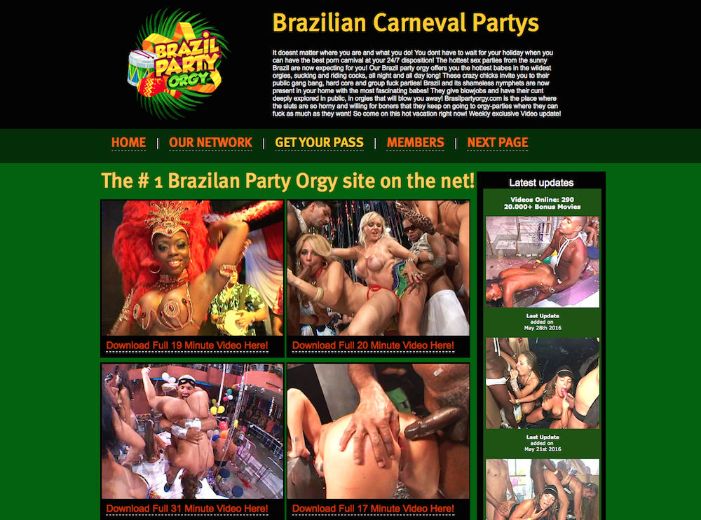 Orgy website