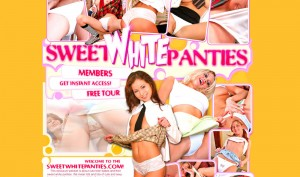 Sweet White Panties