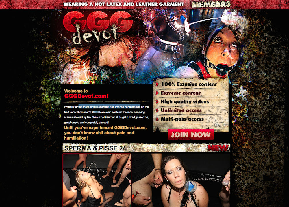 Ggg Devot Review - Pissing Porn Site  The Lord Of Porn-6778