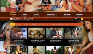 Schoolgirl Lust porn site