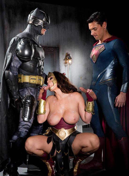 Super heros porno