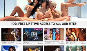 Free 3D Passport porn site