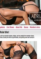 adria rae official website