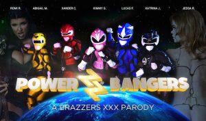 Power Bangers - A XXX Parody