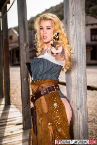 Misha Cross in Rawhide