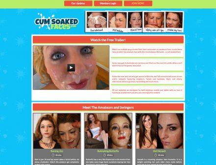 Cum Soaked Faces