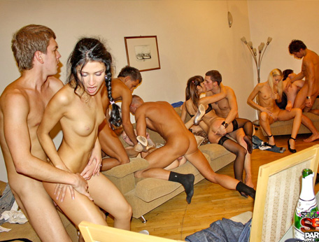 College orgy party