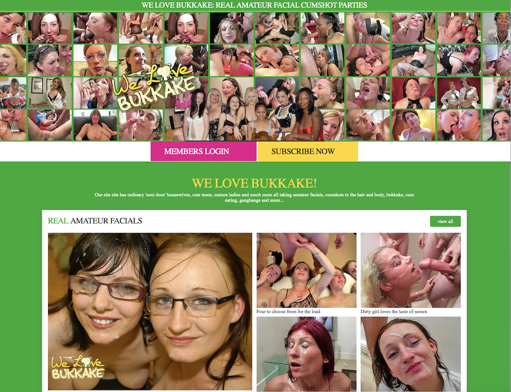 We Love Bukkake - Review by The Lord Of Porn