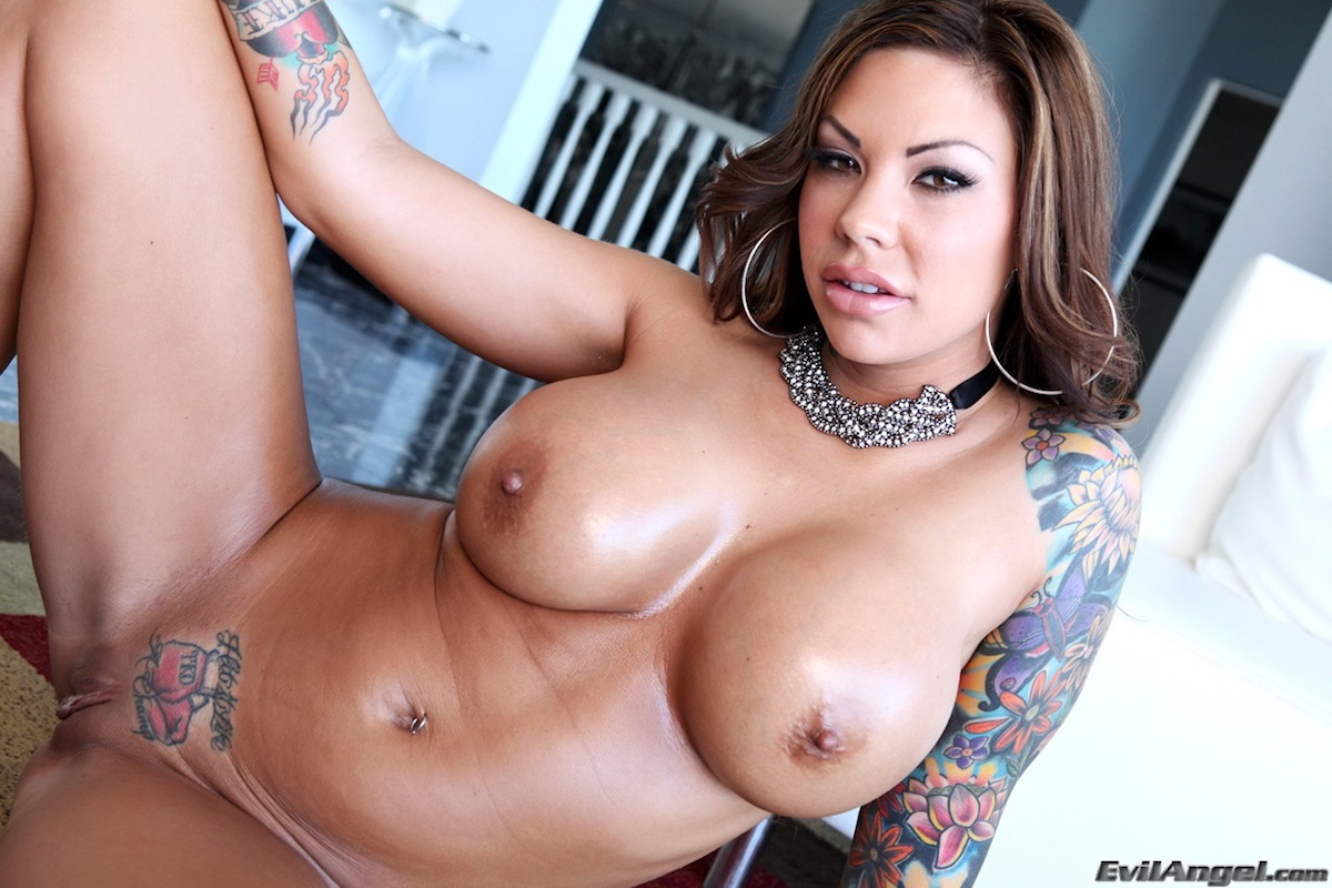 top ten tattooed pornstars