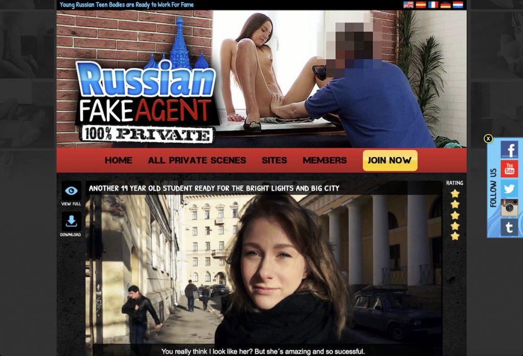 russina fake agent