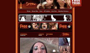 sperm cocktail porn site