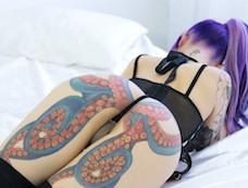 TOP 10 Tattooed Asses in PORN
