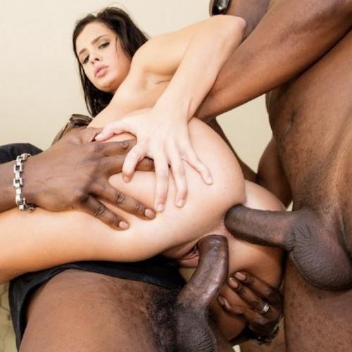 Homemade Interracial Anal Wife