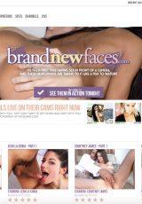 Brand New Faces porn site