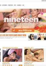 Nineteen porn site