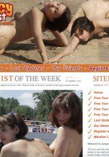 Juicy Nudists porn site