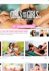 Girls Who Fuck Girls porn site