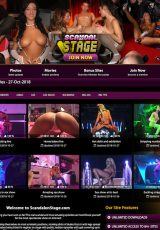 Scandal On Stage porn site