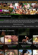 Whores In Public porn site