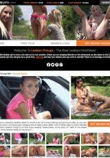 Lesbian Pickups porn site