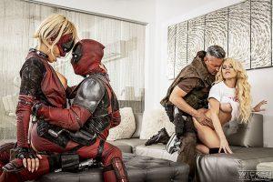 Deadpool XXX scene 5