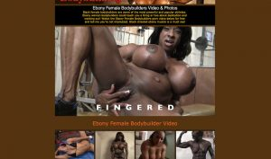 Ebony Female Bodybuilders porn site