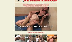 Female Muscle Wrestling porn site