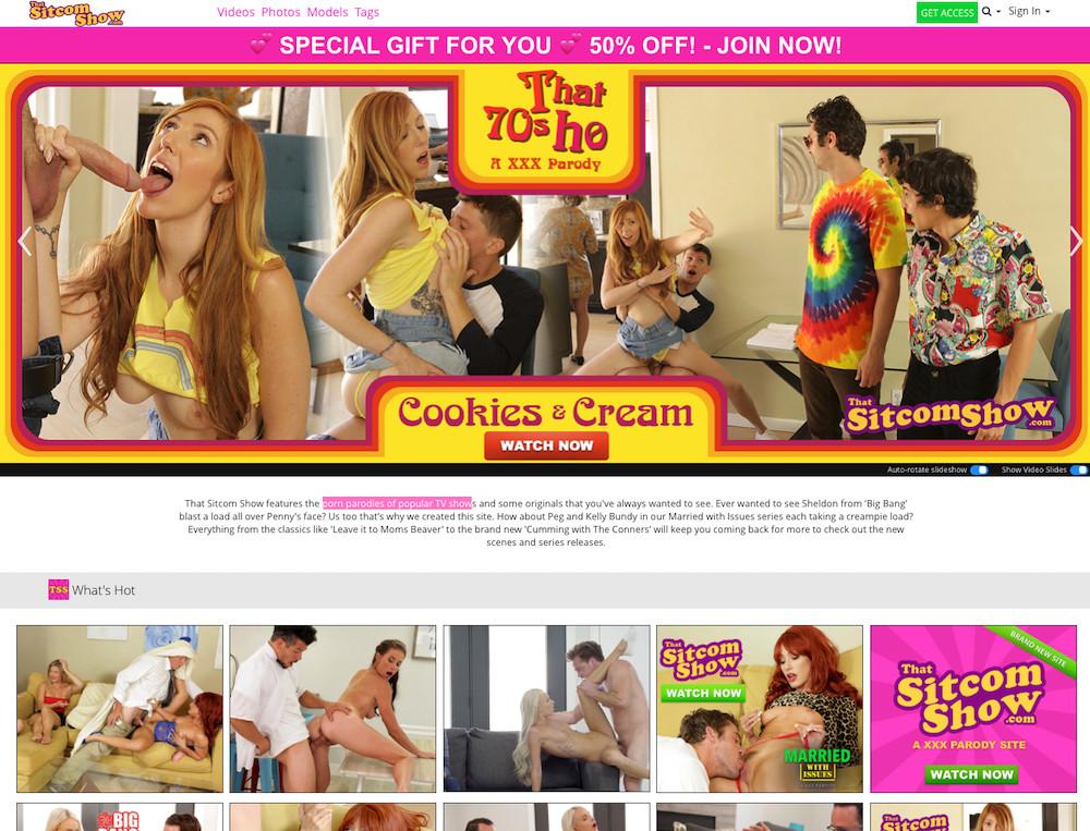 Nude photos porn parody sitcom