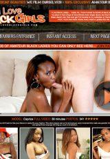 I Love Black Girls porn site