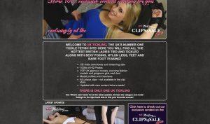 UK Tickling porn site