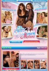 Lesbian Mature 69 porn site