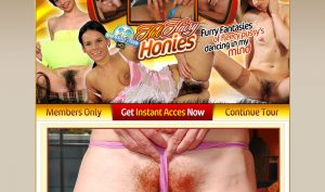 Hot Hairy Honies porn site