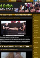 Foot Fetish Addiction porn site