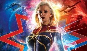 Captain Marvel XXX porn parody