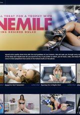 Lone MILF porn site