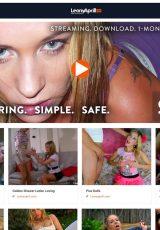 Leony April porn site